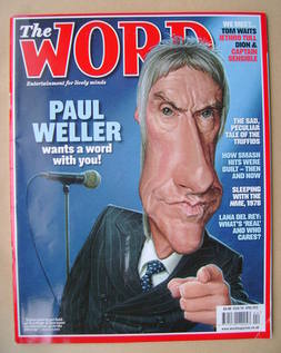 <!--2012-04-->The Word magazine - Paul Weller cover (April 2012)