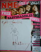 <!--2007-09-15-->NME magazine - Babyshambles cover (15 September 2007)