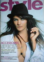 <!--2007-09-09-->Style magazine - Helena Christensen cover (9 September 200