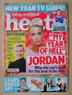 <!--2007-12-21-->Heat magazine - Jordan cover (21 Deceember 2007)