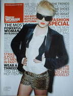 Observer Woman magazine - Agyness Deyn cover (September 2007)
