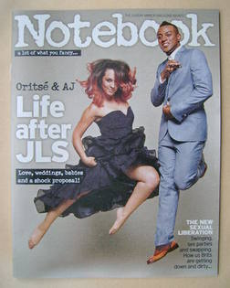 <!--2013-08-18-->Notebook magazine - Oritse and AJ cover (18 August 2013)
