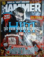 <!--2007-05-->Metal Hammer magazine - HIM Ville Valo cover (May 2007)
