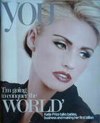 <!--2007-10-28-->You magazine - Jordan (Katie Price) cover (28 October 2007