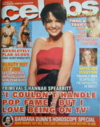 <!--2008-01-06-->Celebs magazine - Hannah Spearritt cover (6 January 2008)