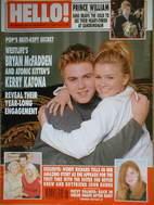 <!--2001-01-09-->Hello! magazine - Bryan McFadden and Kerry Katona cover (9