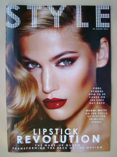 <!--2013-08-25-->Style magazine - Lipstick Revolution cover (25 August 2013