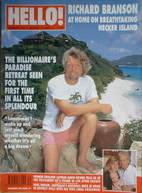 <!--1994-08-27-->Hello! magazine - Richard Branson cover (27 August 1994 -