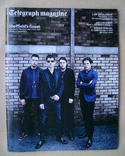 <!--2013-09-07-->Telegraph magazine - Arctic Monkeys cover (7 September 201