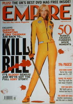 <!--2003-11-->Empire magazine - Uma Thurman cover (November 2003 - Issue 17