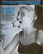 <!--2007-09-30-->The Sunday Times magazine - Princess Grace cover (30 Septe