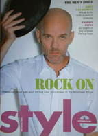 <!--2007-09-30-->Style magazine - Michael Stipe cover (30 September 2007)