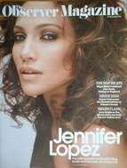 <!--2007-09-30-->The Observer magazine - Jennifer Lopez cover (30 September