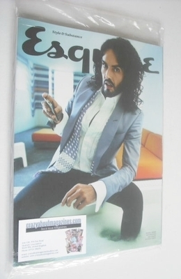<!--2013-07-->Esquire magazine - Russell Brand cover (July 2013 - Subscribe