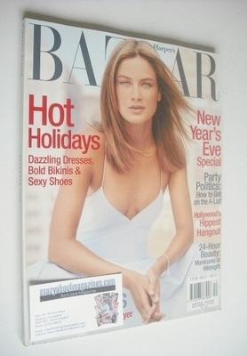 <!--1999-12-->Harper's Bazaar magazine - December 1999 - Carolyn Murphy cov