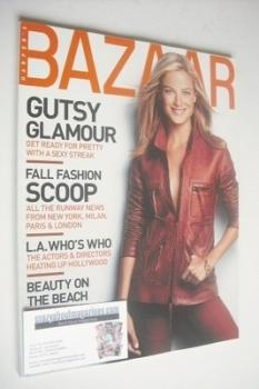Harper's Bazaar magazine - July 2000 - Carolyn Murphy cover