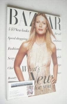 Harper's Bazaar magazine - November 2001 - Gwyneth Paltrow cover