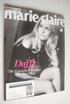 British Marie Claire magazine - February 2011 - Duffy cover (Subscriber's Issue)