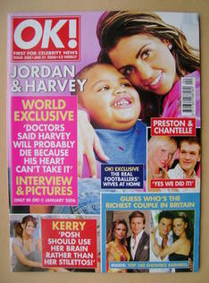 <!--2006-01-31-->OK! magazine - Jordan and Harvey cover (31 January 2006 -