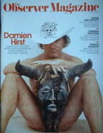 <!--2006-02-19-->The Observer magazine - Damien Hirst cover (19 February 20
