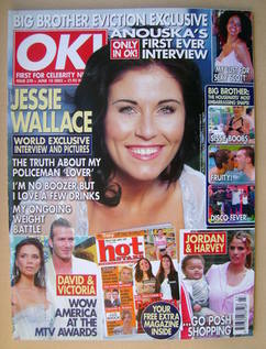 <!--2003-06-10-->OK! magazine - Jessie Wallace cover (10 June 2003 - Issue