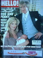 <!--2006-01-05-->Hello! magazine - Rod Stewart and Penny Lancaster & baby A