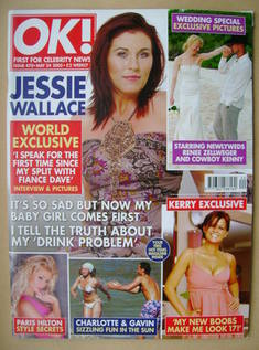 <!--2005-05-24-->OK! magazine - Jessie Wallace cover (24 May 2005 - Issue 4