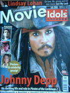 Movie Idols poster magazine - Johnny Depp cover (July 2006)