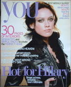 <!--2007-03-18-->You magazine - Hilary Duff cover (18 March 2007)