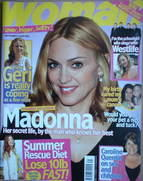 <!--2006-09-04-->Woman magazine - Madonna cover (4 September 2006)