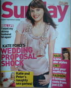 <!--2007-10-14-->Sunday magazine - 14 October 2007 - Kate Ford cover