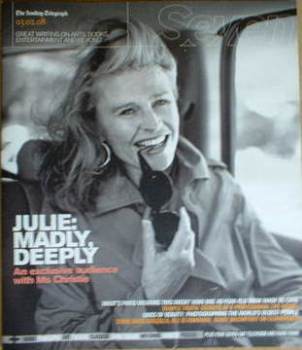 Seven magazine - Julie Christie cover (3 February 2008)