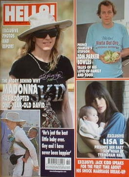 <!--2006-10-24-->Hello! magazine - Madonna cover (24 October 2006 - Issue 9