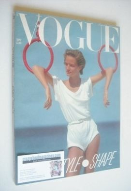 <!--1983-05-->British Vogue magazine - May 1983 (Vintage Issue)