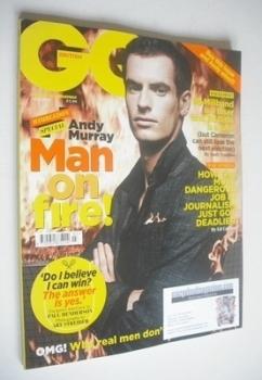 British GQ magazine - July 2013 - Andy Murray cover