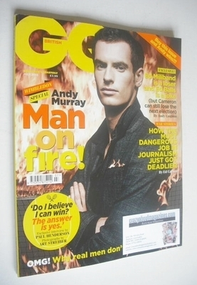 <!--2013-07-->British GQ magazine - July 2013 - Andy Murray cover