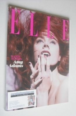 <!--2013-07-->British Elle magazine - July 2013 - Amy Adams cover (Subscrib