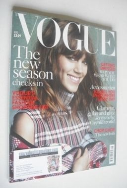 <!--2013-08-->British Vogue magazine - August 2013 - Freja Beha Erichsen co