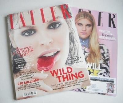 <!--2013-09-->Tatler magazine - September 2013 - Atlanta de Cadenet Taylor