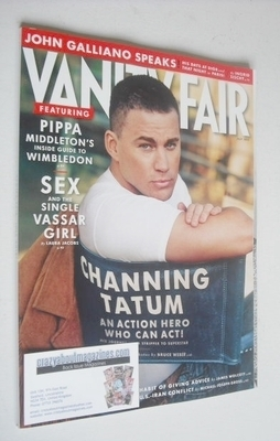 <!--2013-07-->Vanity Fair magazine - Channing Tatum cover (July 2013)