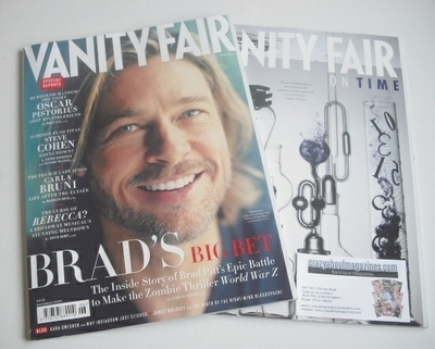 <!--2013-06-->Vanity Fair magazine - Brad Pitt cover (June 2013)
