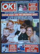 <!--1998-06-12-->OK! magazine - Sophie Ward and Rena Brannan cover (12 June