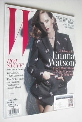 <!--2013-06-->W magazine - June/July 2013 - Emma Watson cover