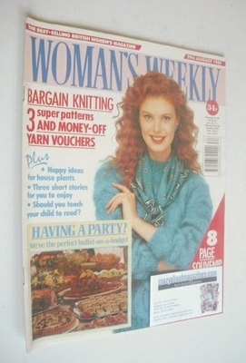 <!--1989-08-29-->Woman's Weekly magazine (29 August 1989 - British Edition)