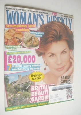 <!--1993-04-06-->Woman's Weekly magazine (6 April 1993)