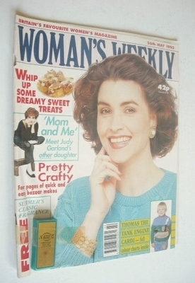 <!--1992-05-26-->Woman's Weekly magazine (26 May 1992)