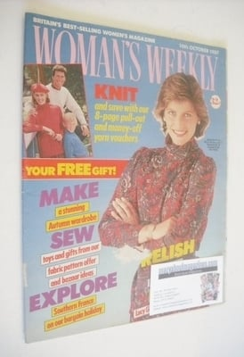 <!--1987-10-10-->Woman's Weekly magazine (10 October 1987 - British Edition