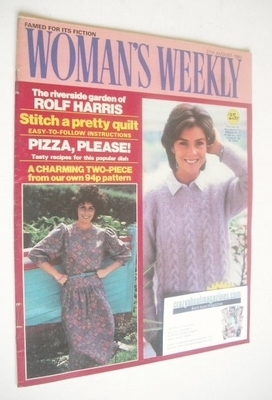 <!--1983-08-27-->Woman's Weekly magazine (27 August 1983 - British Edition)