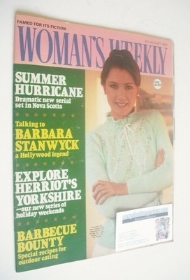 <!--1983-08-06-->Woman's Weekly magazine (6 August 1983 - British Edition)