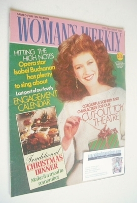 <!--1985-12-14-->Woman's Weekly magazine (14 December 1985 - British Editio